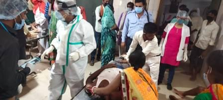 Krishnagadh Bike Accide-मां-बेटा सहित तीन जख्मीnt