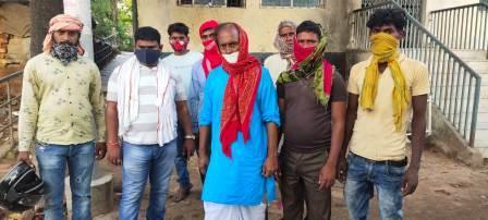 Nowa Bhojpur-आसमानी बिजली से दो की मौत