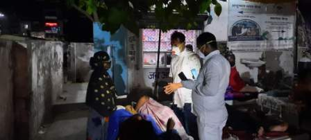 Manoj Manzil-अगिआंव विधायक मनोज मंजिल रात में पहुंचे आरा सदर अस्पताल
