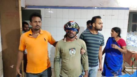 Charpokhari Harsh Firing-Injured
