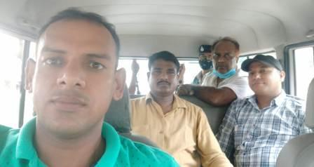 Piro BEO Abhay Kumar was arrested by Nigrani