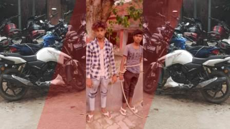 Two snatchers arrested in Arrah with bike and five mobiles
