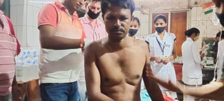Sugriv Singh shot