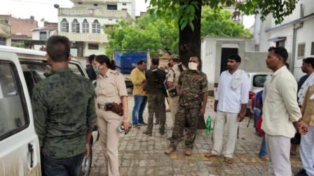 Vikrama Yadav of Jamua died in Gyanpura Harsh firing