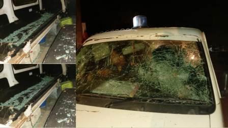 Sonu Paswan shot dead near Jagjivan Halt - Ambulance vandalized after road jam on Ara-Buxar main road Paswan Chowk in protest