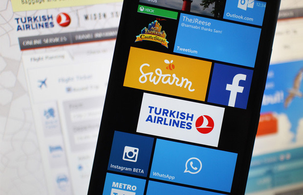 Turkish Airlines new app