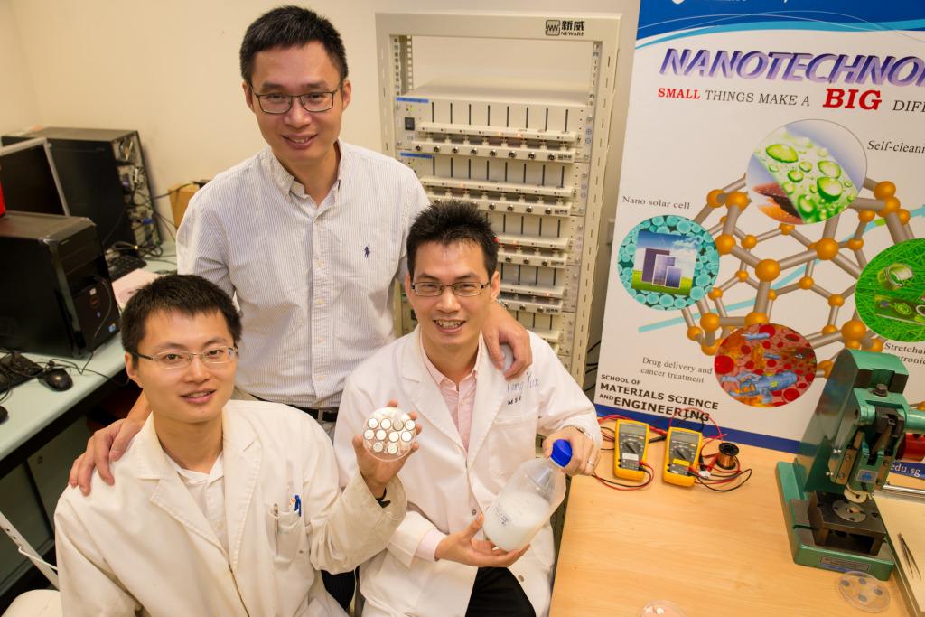 NTU-Assoc-Prof-Chen-Xiaodong-with-research-fellow-Tang-Yuxin-and-PhD-student-Deng-Jiyang