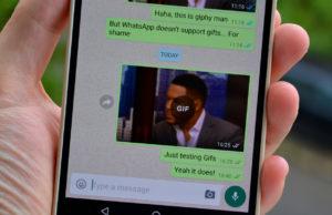 whatsapp supports gif