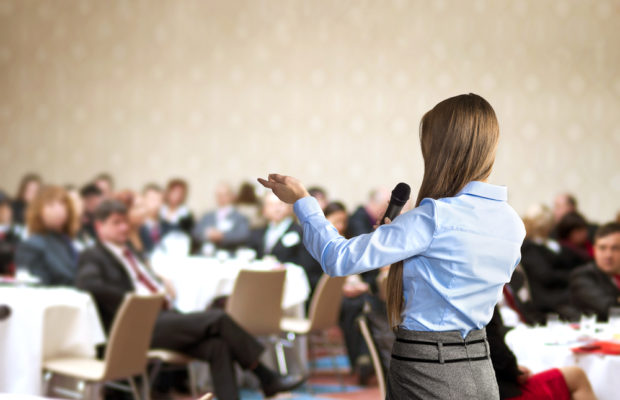 organize your first business event