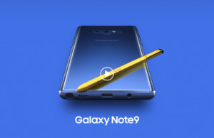 samsung galaxy note 9 intro video leaked
