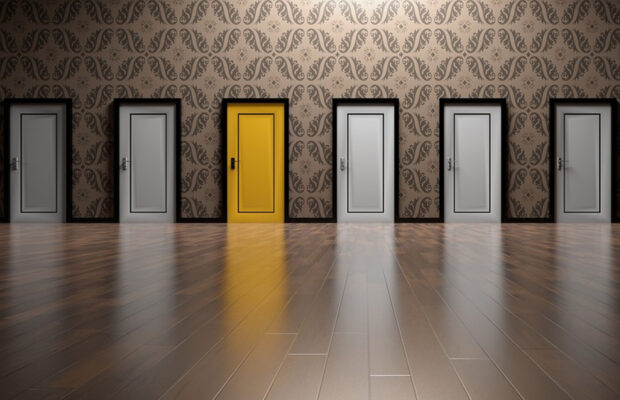 stepping through the right door making our marketing about the right thing