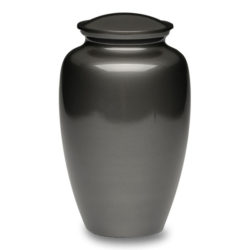 Classic Brass Cremation Urn in Slate Finish – Adult – B-1511-A-S