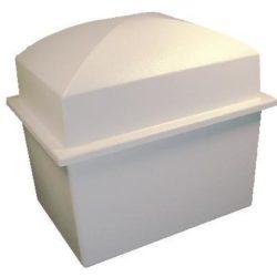 Burial Vault Double – White - CV-800