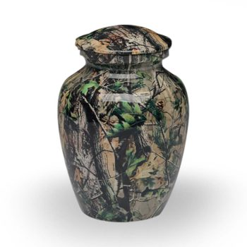 Camouflage II Cremation Urn – Medium – A-1981-M