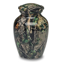 Camouflage II Cremation Urn – Small – A-1981-S