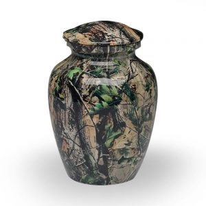Camouflage II Cremation Urn – X-Small – A-1981-XS