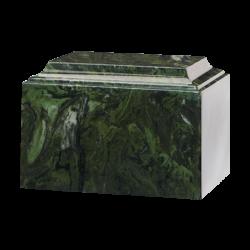 Tuscany Cultured Marble Urn Dark Green - Adult - CM-T-DARK-GREEN-A