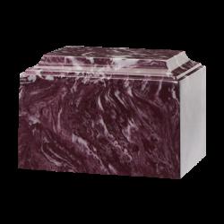 Tuscany Cultured Marble Urn Merlot - Adult - CM-T-MERLOT-A