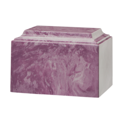 Tuscany Cultured Marble Urn Purple - Adult - CM-T-PURPLE-A