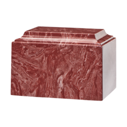 Tuscany Cultured Marble Urn Rouge - Adult - CM-T-ROUGE-A