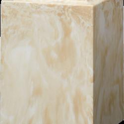 Windsor Cultured Marble Adult Urn Cream Moca - Adult - CM-W-CREAM-MOCHA
