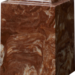 Windsor Cultured Marble Adult Urn Espresso Brown - Adult - CM-W-ESPRESSO-BROWN-A
