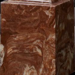 Windsor Cultured Marble Adult Urn Espresso Brown - Adult - CM-W-ESPRESSO-BROWN-A