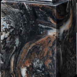 Windsor Cultured Marble Adult Urn Mission Black - Adult - CM-W-MISSION-BLACK-A