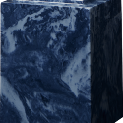Windsor Cultured Marble Adult Urn Navy Blue - Adult - CM-W-NAVY-BLUE-A