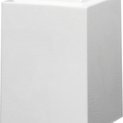Windsor Cultured Marble Adult Urn Solid White - Adult - CM-W-SOLID-WHITE-A