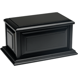 Affordable Colonial Urn in Black Finish