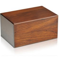 Economy Wooden Urn Box (Extra Large - Temporary Container)