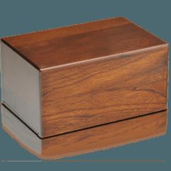 Economy Oriental Plane Wooden Urn Box (Large Size)Economy Oriental Plane Wooden Urn Box (Large Size)