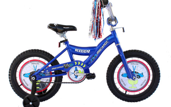 "MIcargi Kiddy 16"" Blue Kids Bicycle"