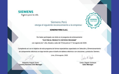 Sonepar culminó satisfactoriamente el ELECTRICAL PRODUCTS CERTIFIED PROGRAM