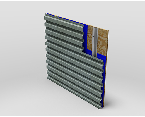 Trapezoidal Corrugate