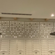 Custom Perforated Wall Panel