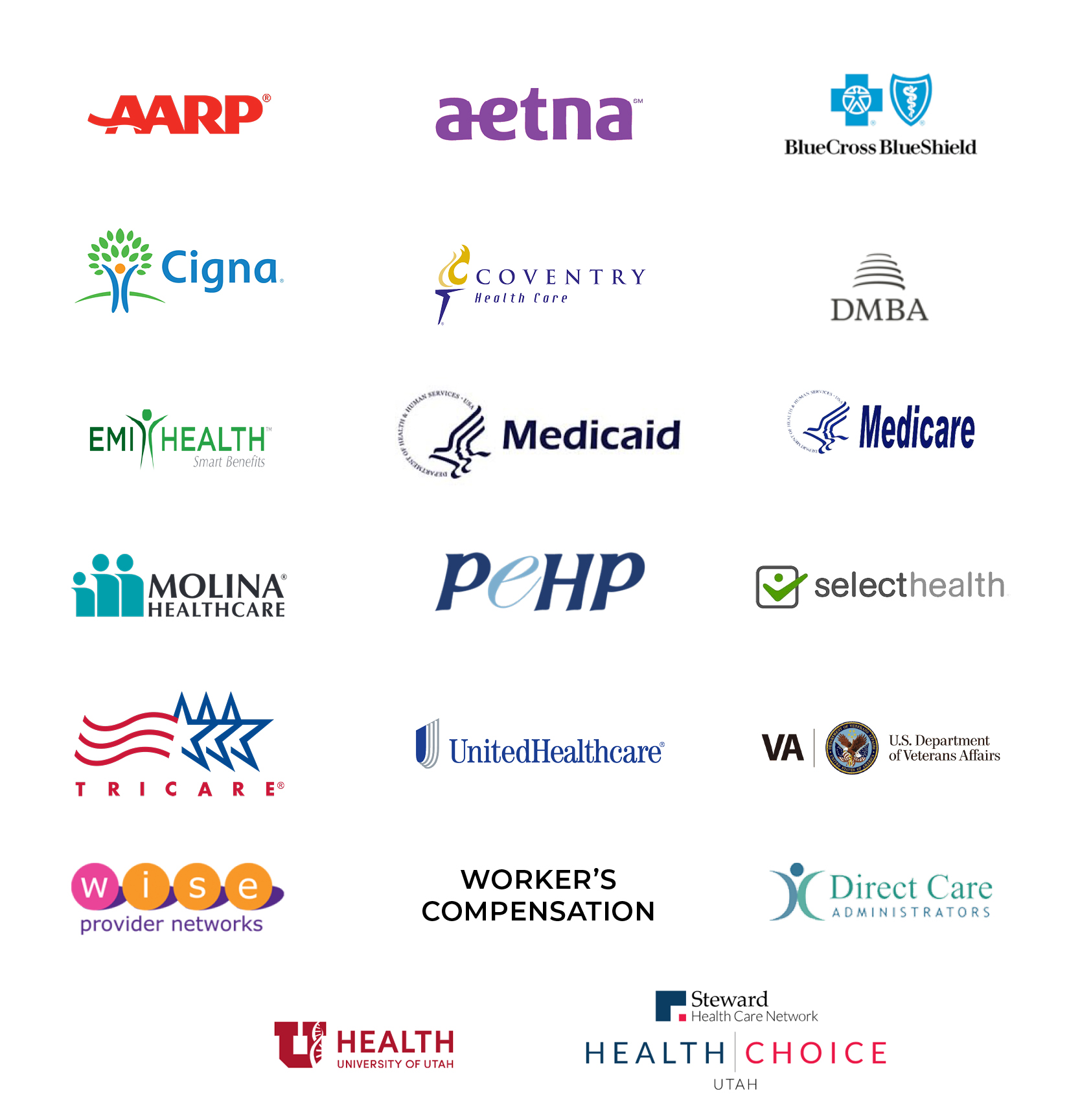 Accepted Insurance Providers for Bridge PT Clinic