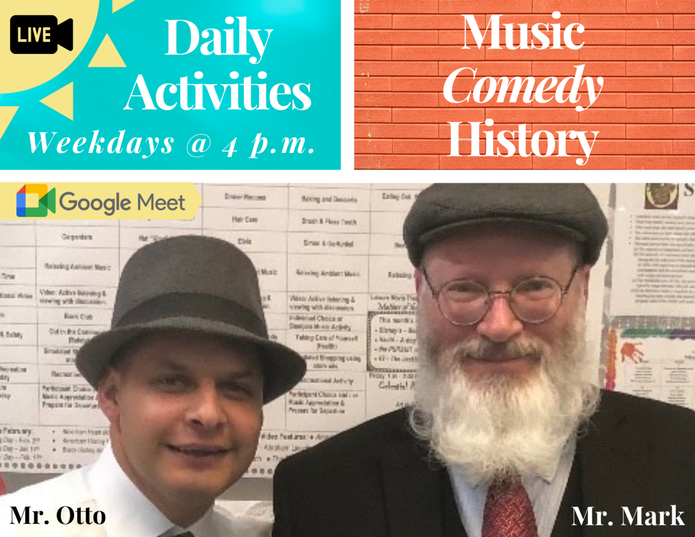 Daily Activities Live - Website Image