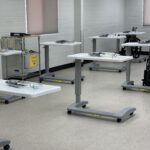 Spacious & Individualized Work Stations