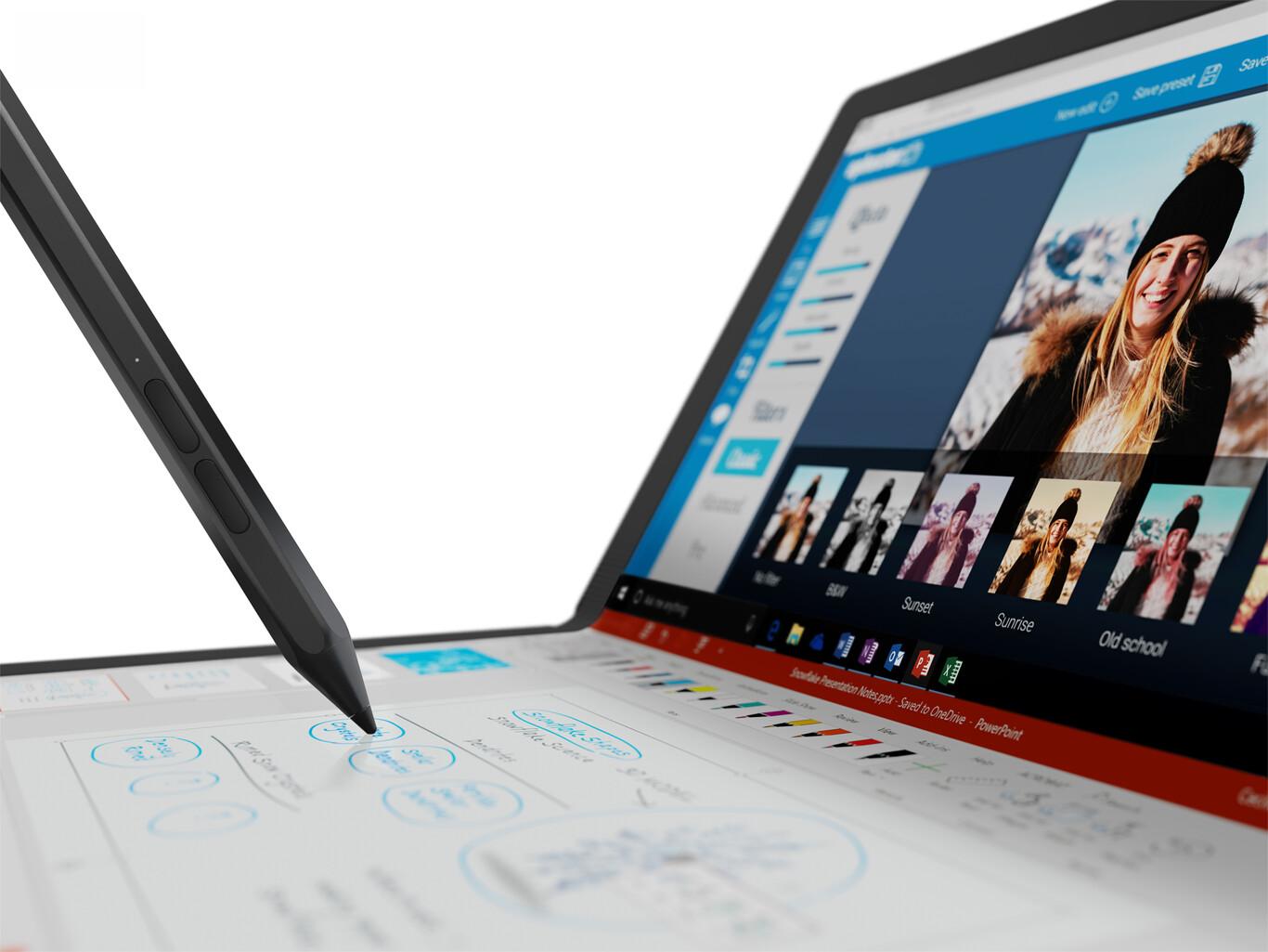 Lenovo ThinkPad X1 Fold: el primer portátil con pantalla flexible de la historia llega decidido a romper esquemas por su versatilidad