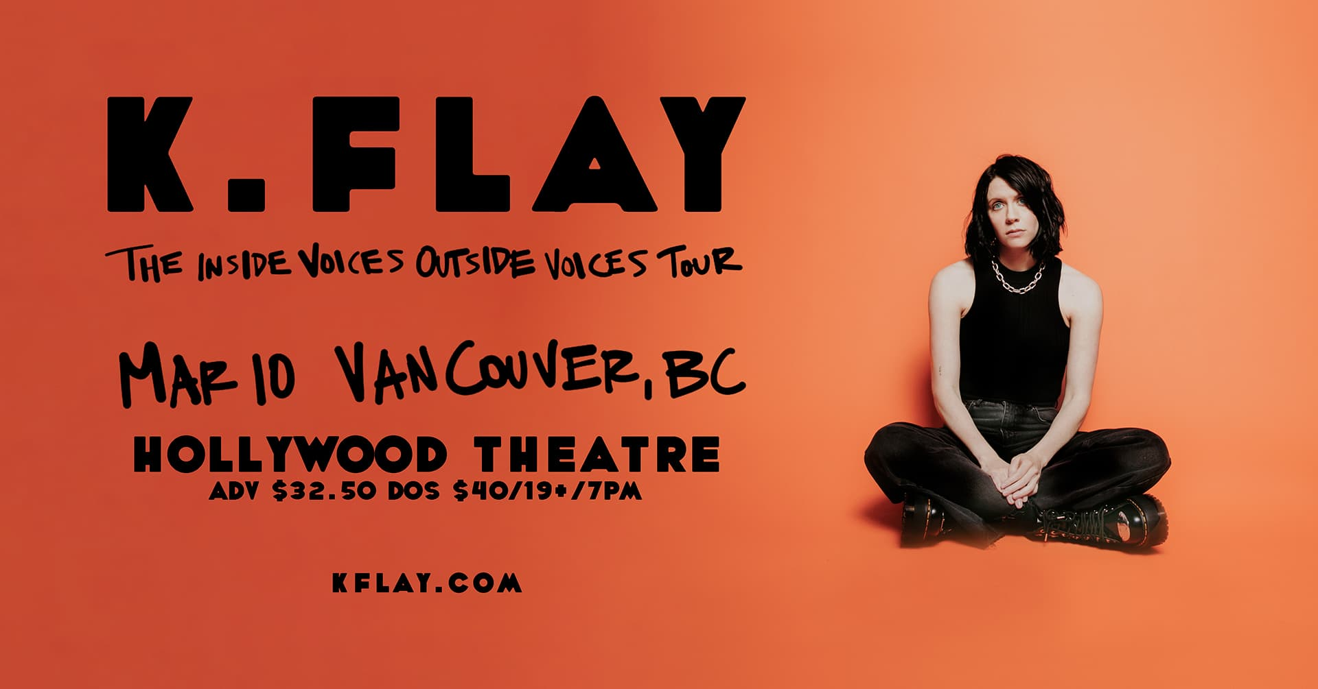 K.FLAY - The Inside Voices Outside Voices Tour
