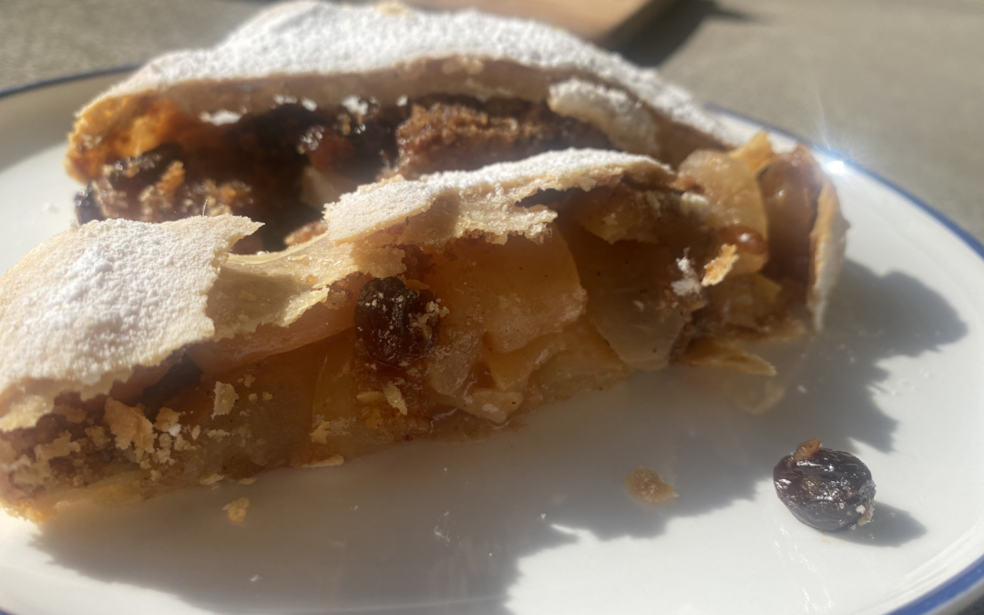 End of Season Apple Strudel