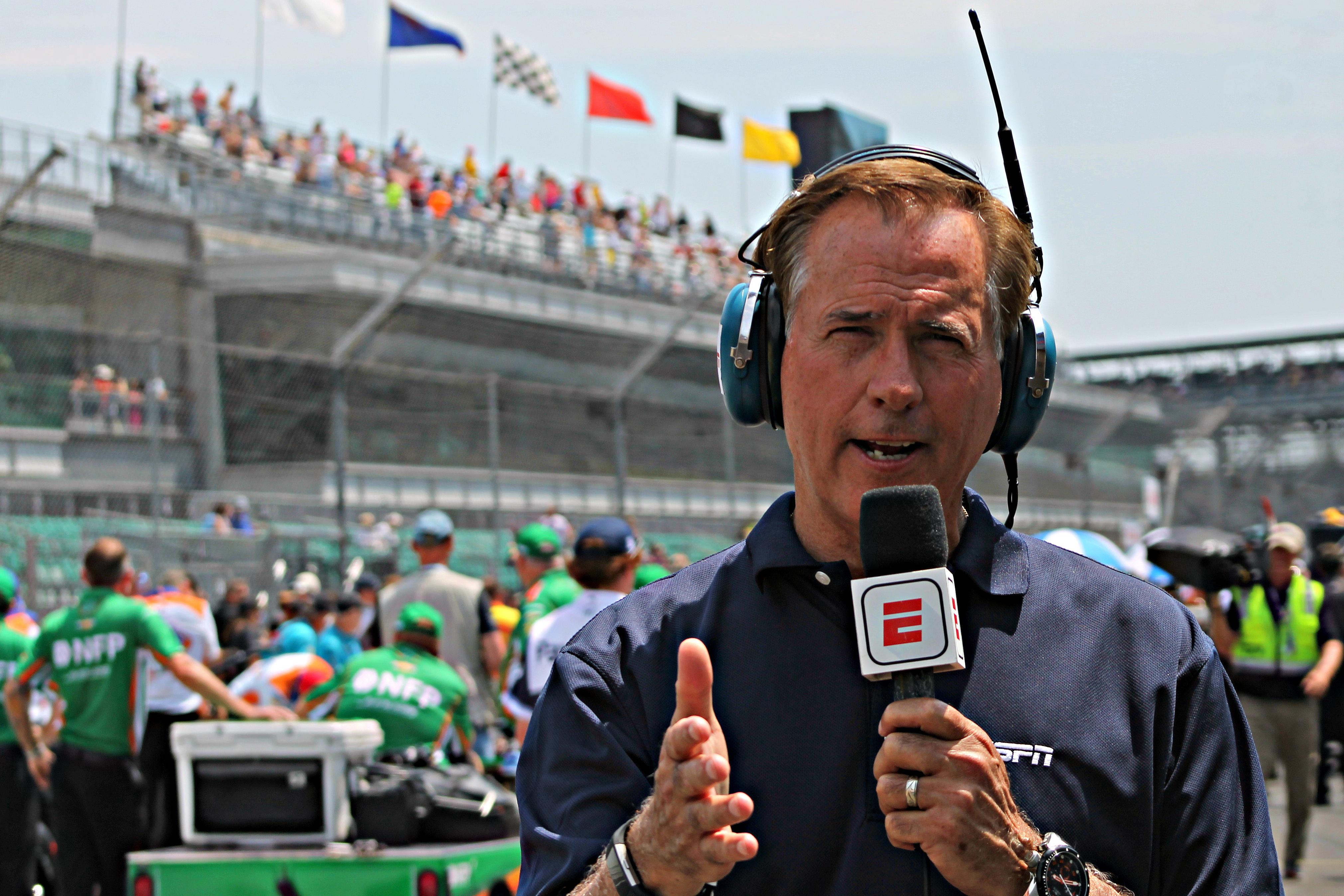 Rick DeBruhl at the Indy 500