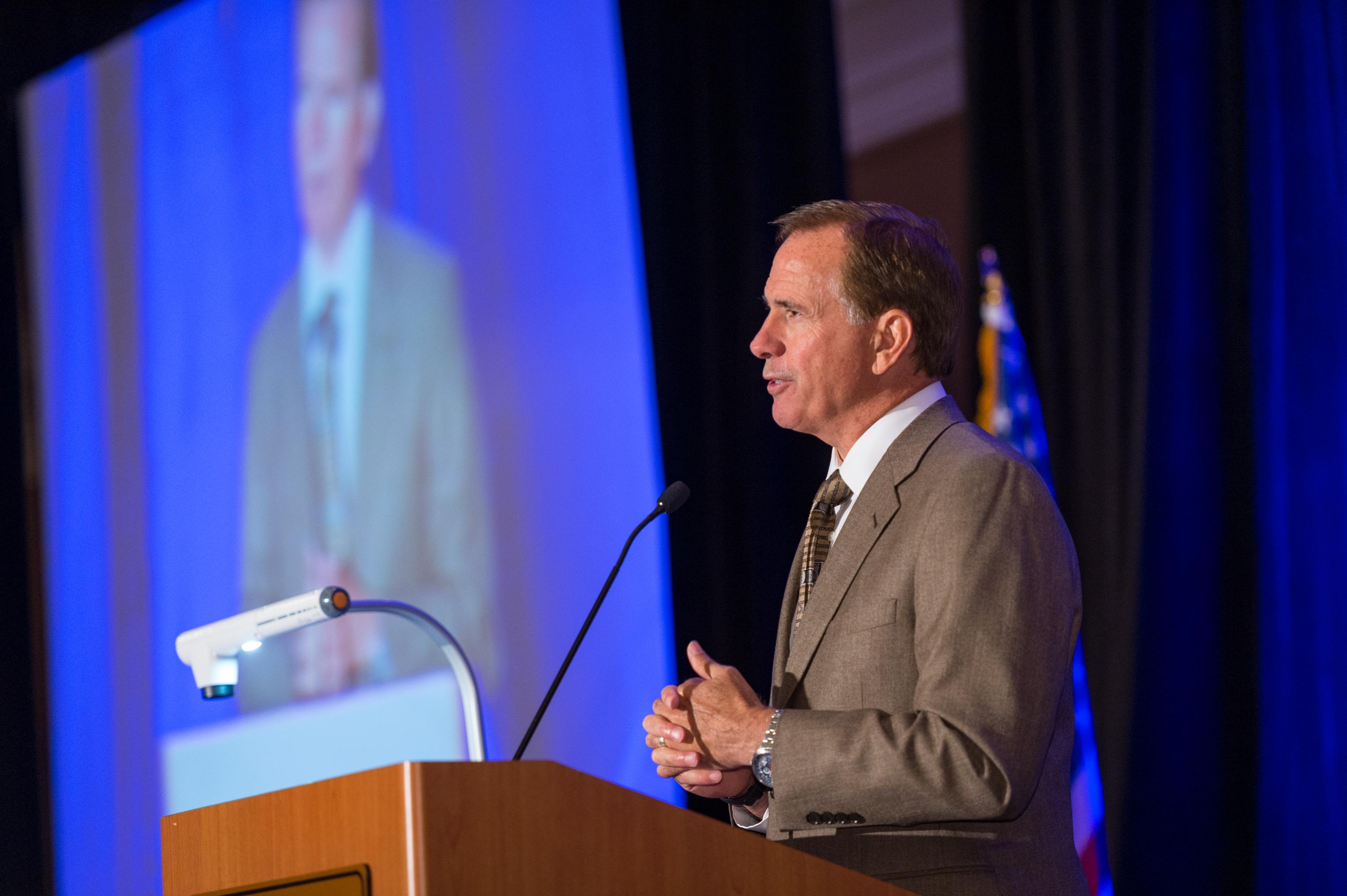 Rick DeBruhl at State Bar Convention
