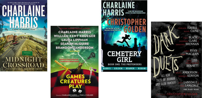 Works published by Charlaine Harris 2014