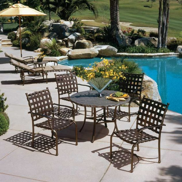 Patio Furniture by pool