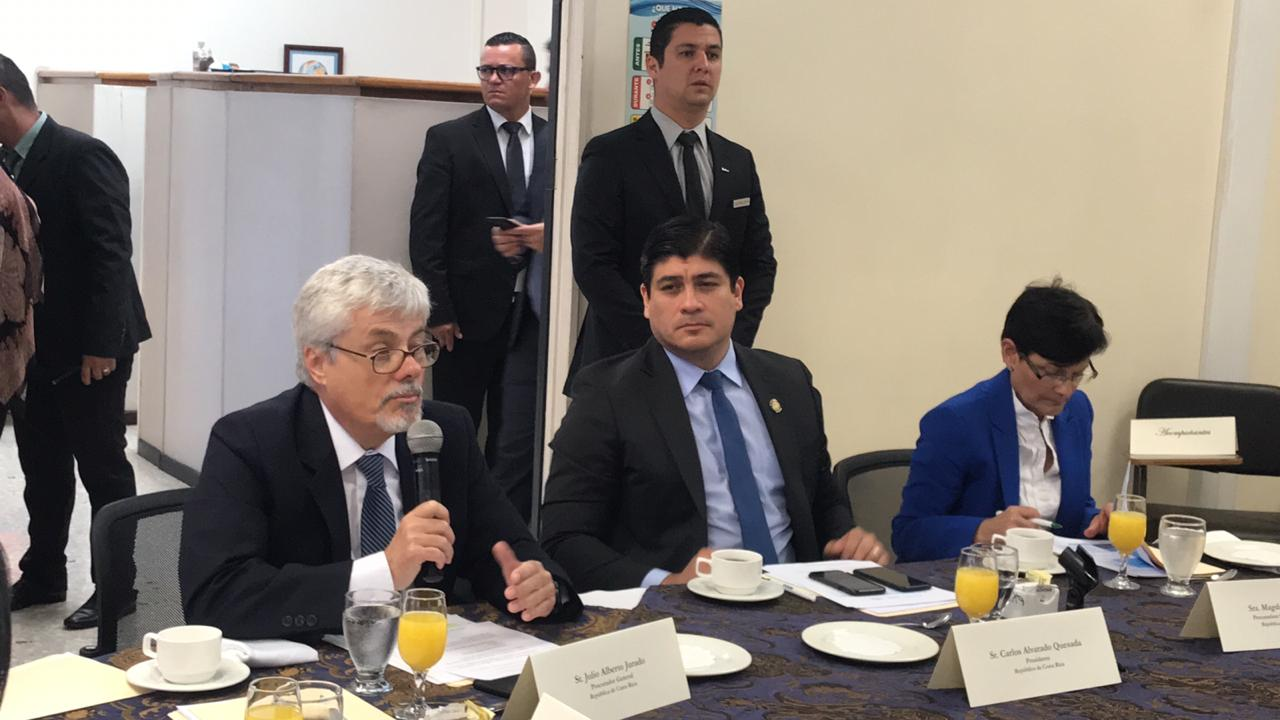 Reunión de alto nivel de la ENIPC, realizada el 10 de octubre de 2019