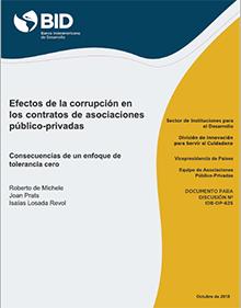 Efectos de la corrupción en contratos público-privados