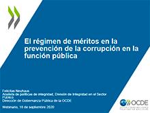 El régimen de méritos en la prevención de la corrupción en la función pública